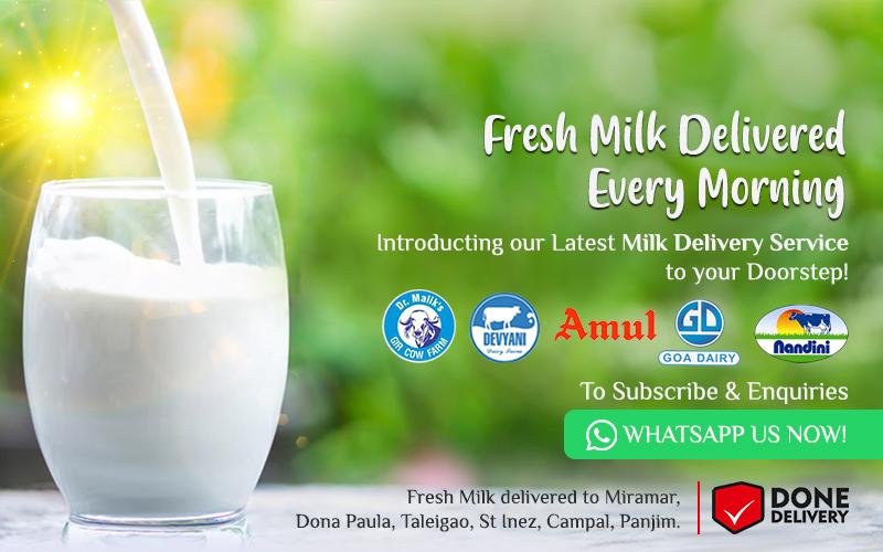Fresh Milik Delivered Daily