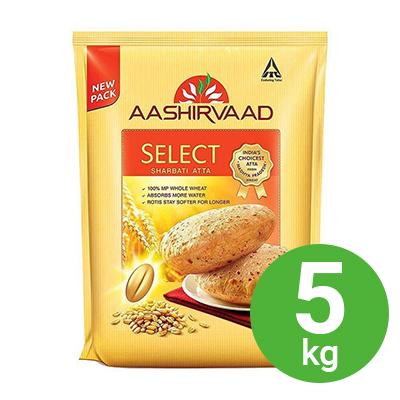 Ashirwad Select Sharbati Atta