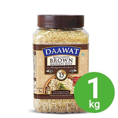 DAAWAT BROWN BASMATI 1KG