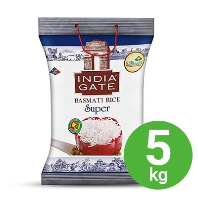INDIA GATE SUPER BAS 5KG