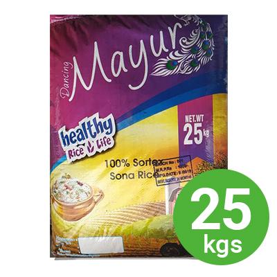 Mayur Sonamasoori Rice 25kg