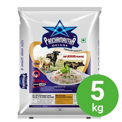 Panchamruta Deluxe Lachakari Kolam Rice 5kg